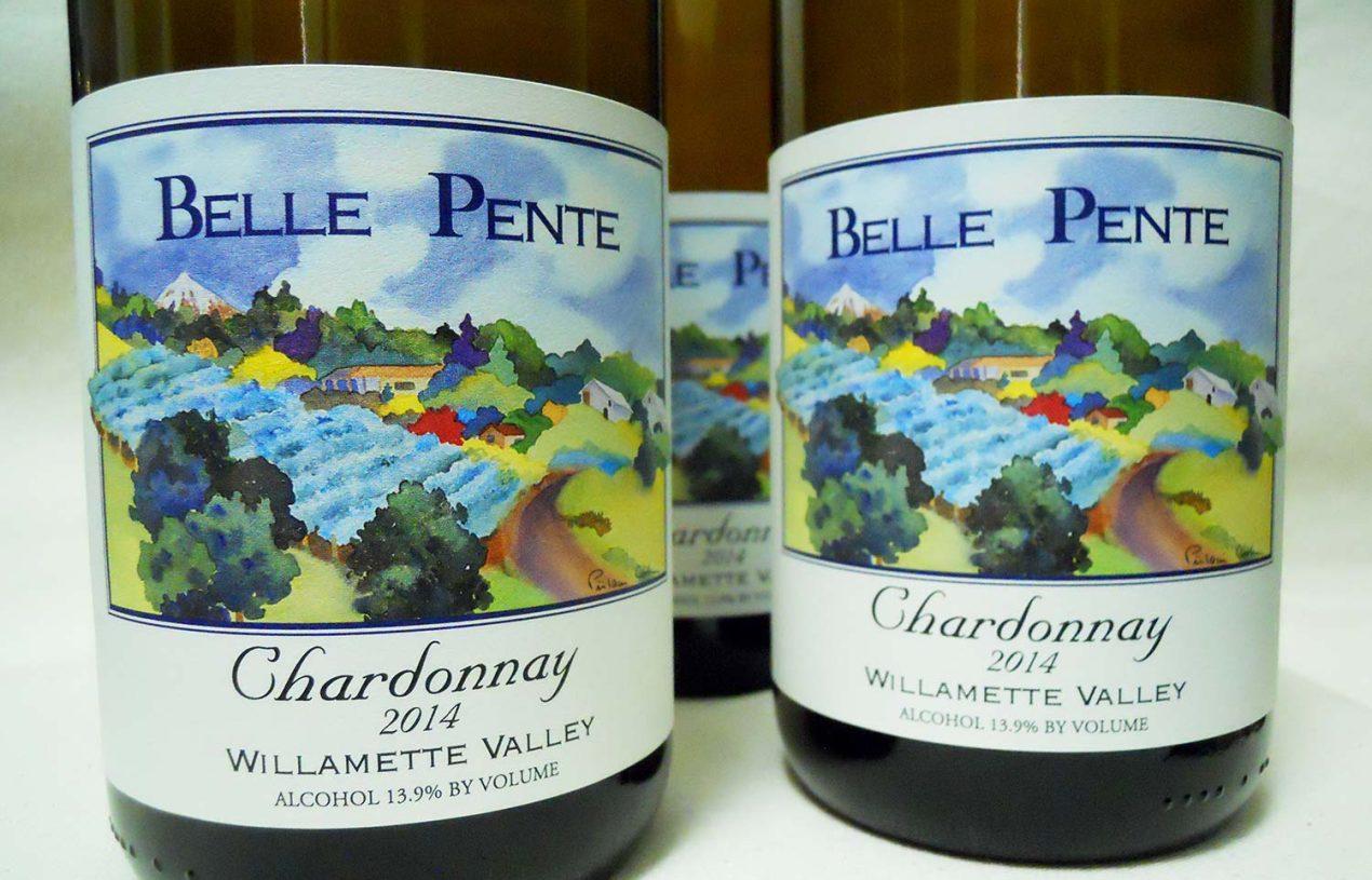 Belle Pente Willamette Valley Chardonnay 2014