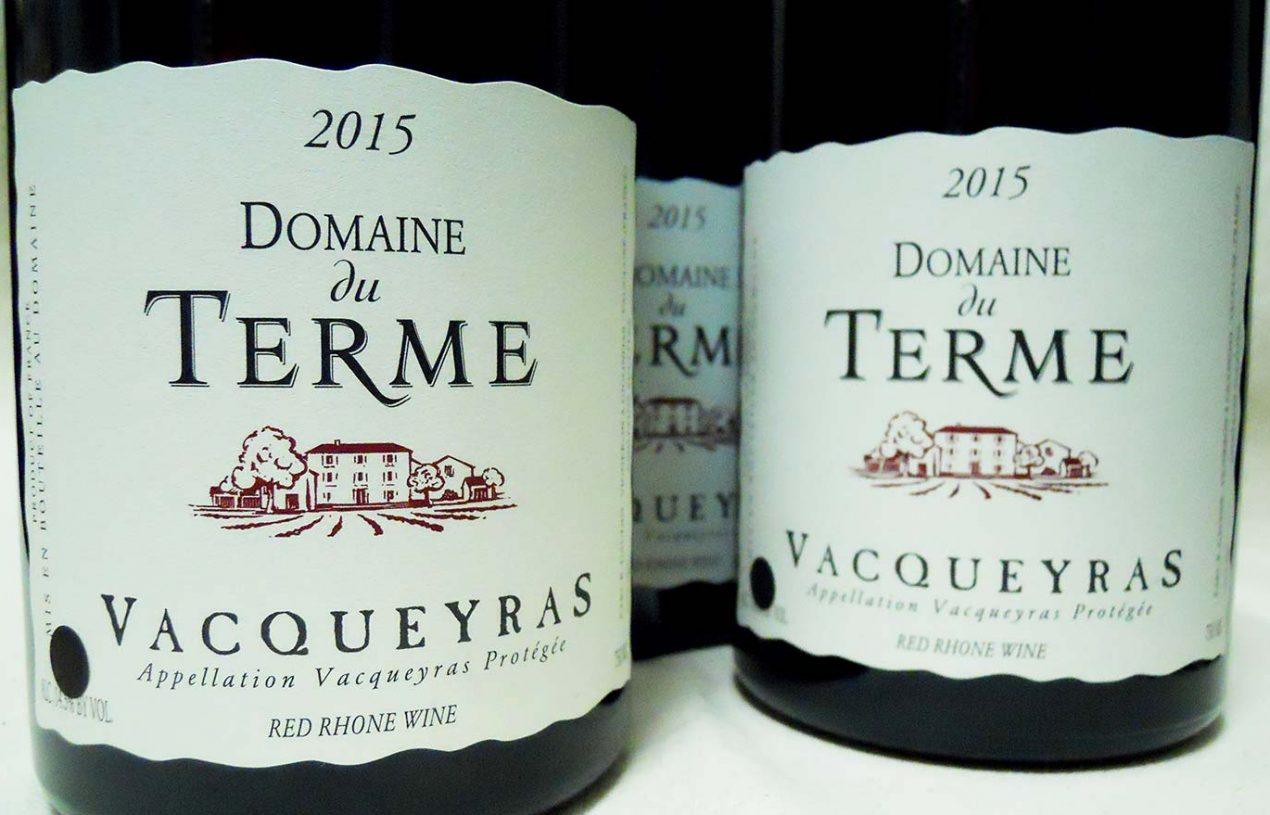 Domaine du Terme Vacqueyras 2015